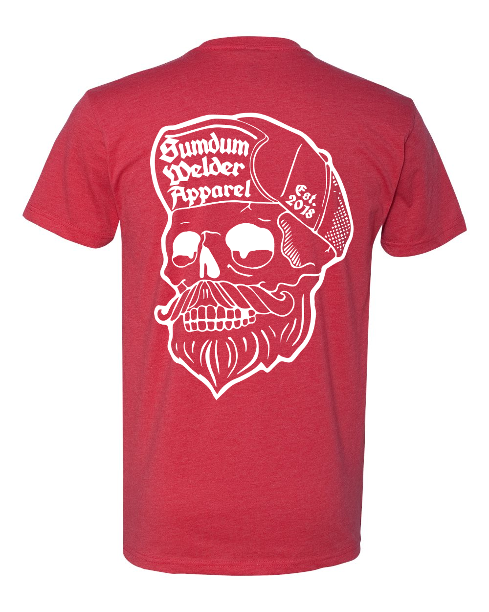 Scumbag Skull - Old School Front - Transparent Logo
