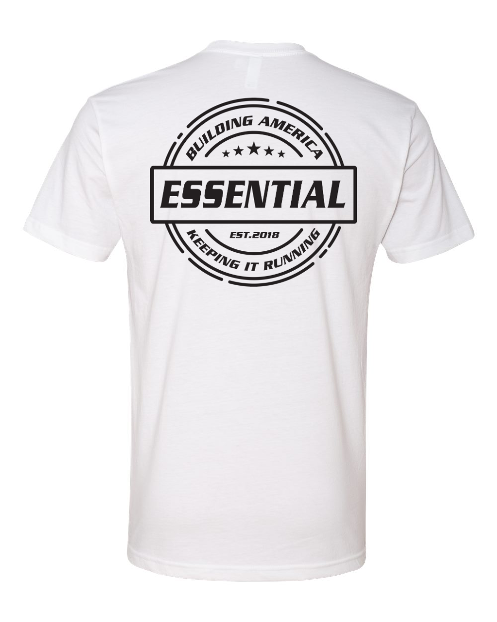 Essential w/ Tools of the Trade - Black logo