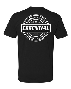 Essential w/ Tools of the Trade - White logo