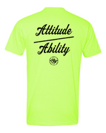 Load image into Gallery viewer, Attitude Over Ability FB - Old School SDW FF - Black logo