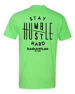 Load image into Gallery viewer, Stay Humble & Hustle Hard FB - SDW LC - Black logo