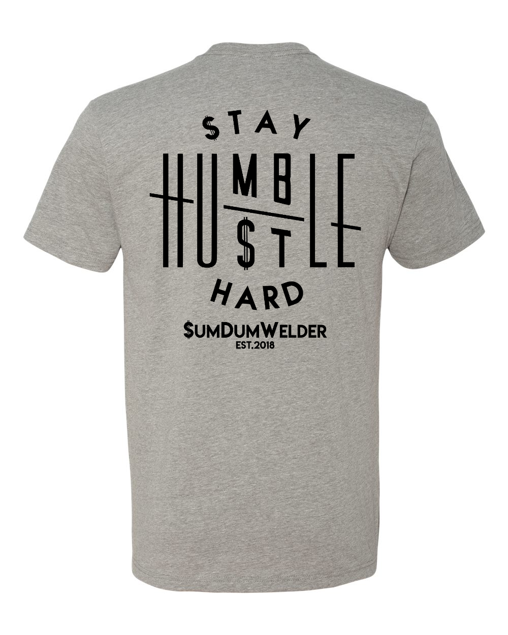 Stay Humble & Hustle Hard FB - SDW LC - Black logo