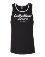 Load image into Gallery viewer, Next Level Tank - Old School SDW - Front Only - White logo