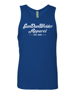Next Level Tank - Old School SDW - Front Only - White logo