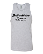 Load image into Gallery viewer, Next Level Tank - Old School SDW - Front Only - Black logo