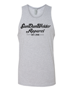 Next Level Tank - Old School SDW - Front Only - Black logo
