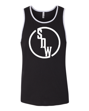 Next Level Tank - SDW Brand - Front Only - White logo