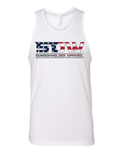 Next Level Tank - USA SDW - Front Only