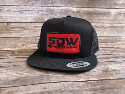 New School Patch Hat - Black/Red