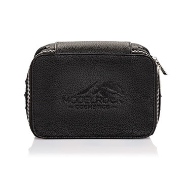 Vegan Faux Leather Makeup Bag
