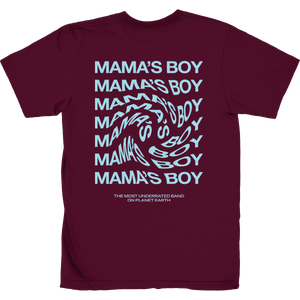 the most underrated band t-shirt maroon