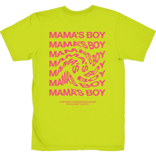 Load image into Gallery viewer, the most underrated band t-shirt neon yellow