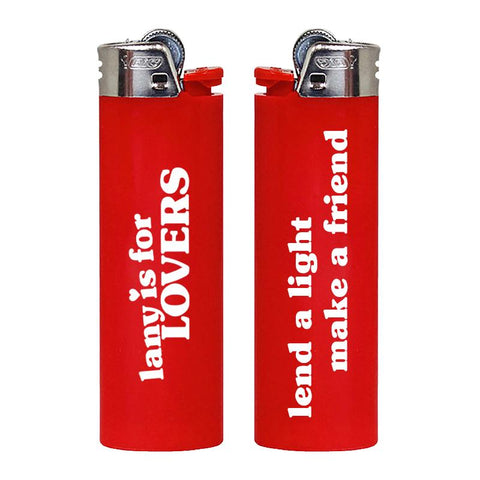 LANY IS FOR LOVERS LIGHTER