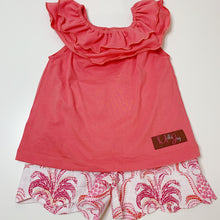 Pineapple Scalloped Short Set (24m, 2t, 3t, 5)