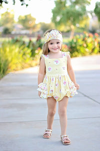 Ruffle Bubble - Buttercup (3m, 9m, 12m, 24m)