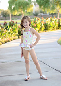 Buttercup Two-Piece Swimsuit (12m)