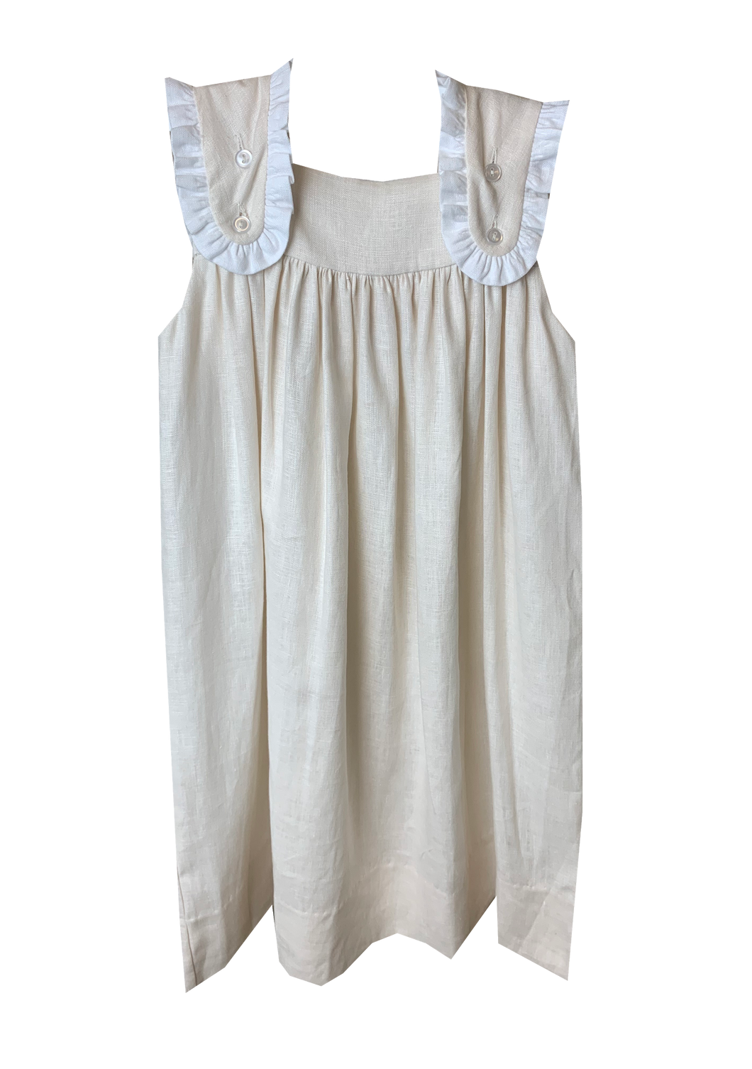 Linen Faith Dress (12m-4t)