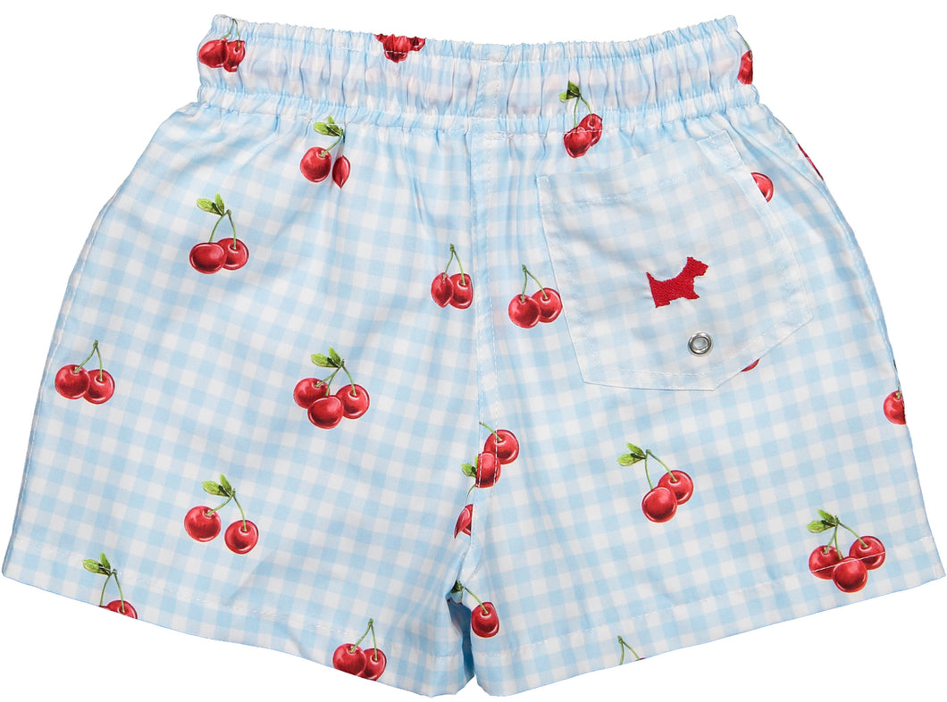 Cherry On Top Swimtrunks (6m, 18m, 2t)