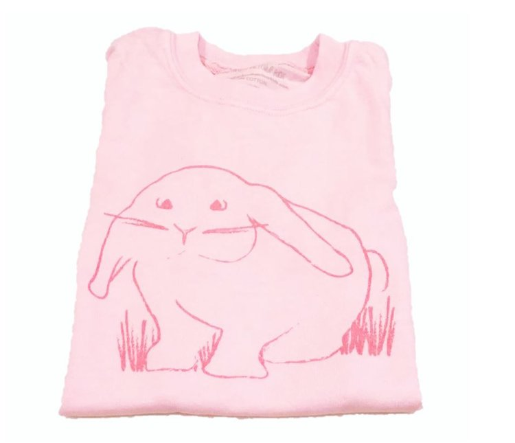 Pink Bunny T-Shirt (S, M)
