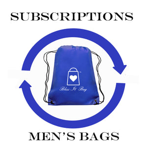 Subscriptions: Men's Bless It Bags