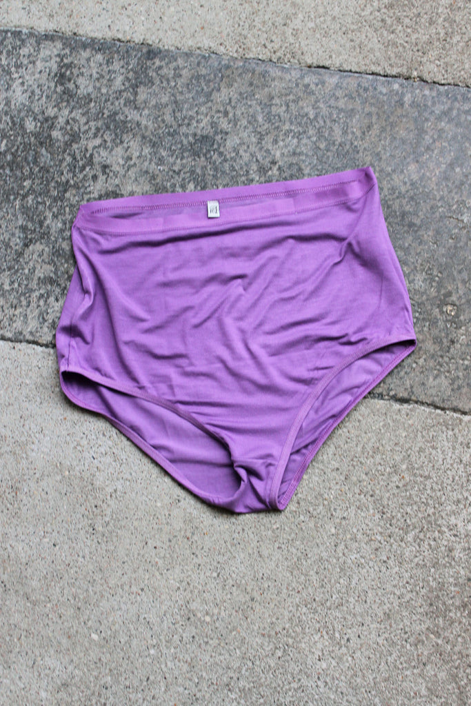 BASERANGE, Highwaist Bell Pants, Chay Purple