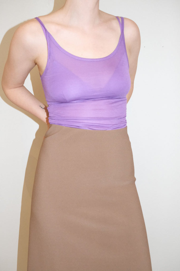 BASERANGE, Tank Top, Chay Purple