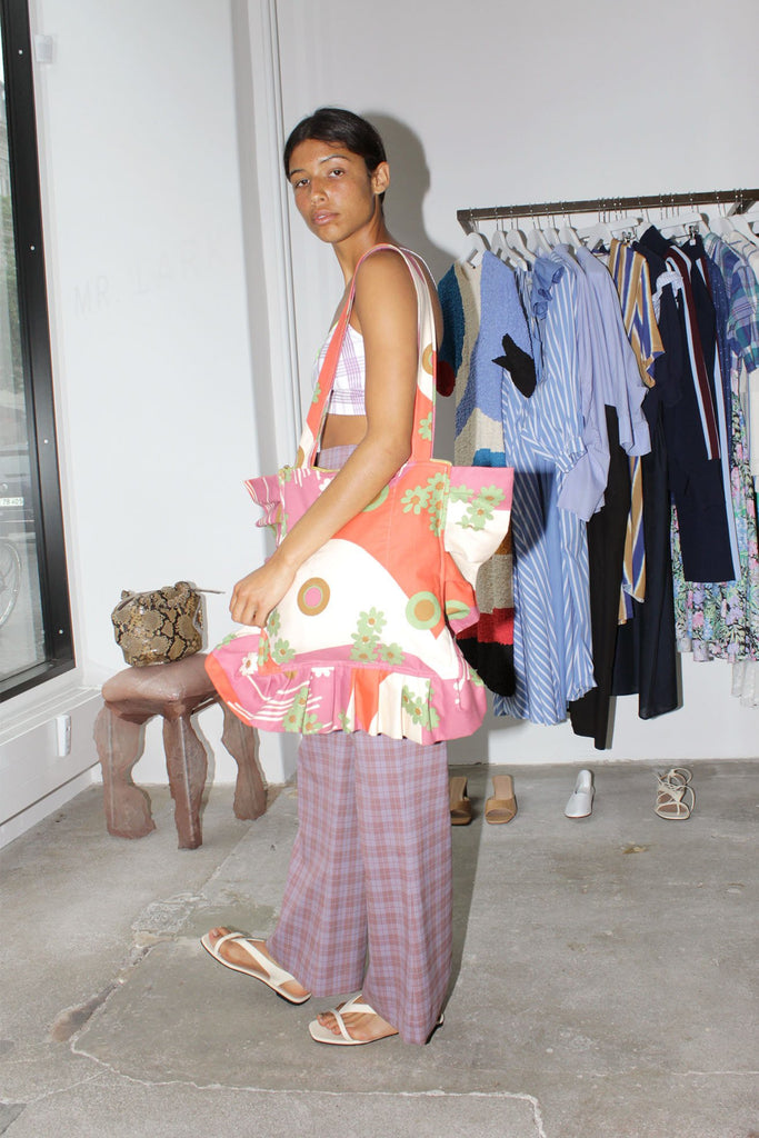 MISS KK, Ruffle Bag, Worn by Model