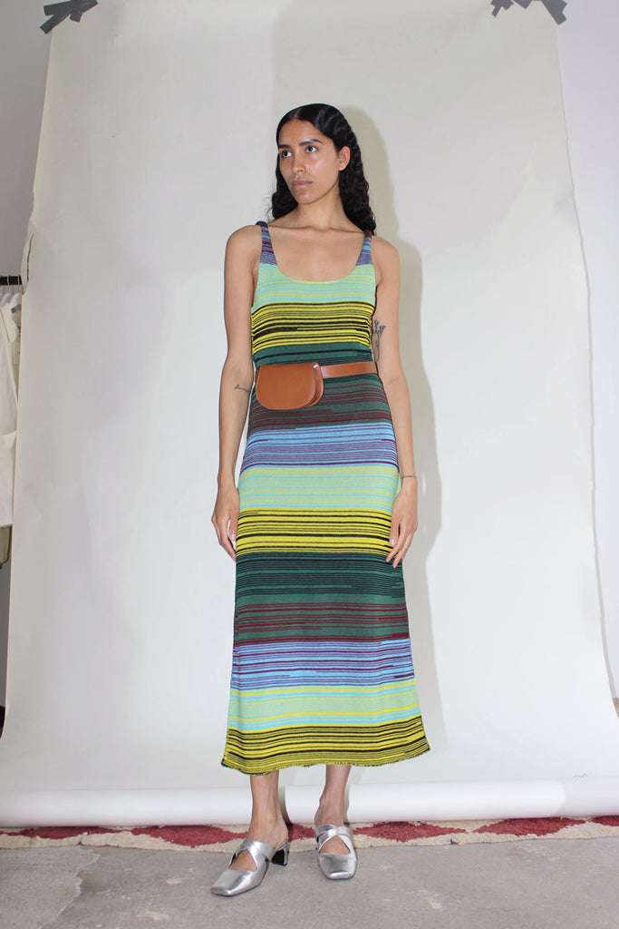 MOZH MOZH, Sunset Dress, Multi Stripe