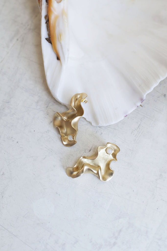 TRINE TUXEN, Karen Earrings, Gold Plated
