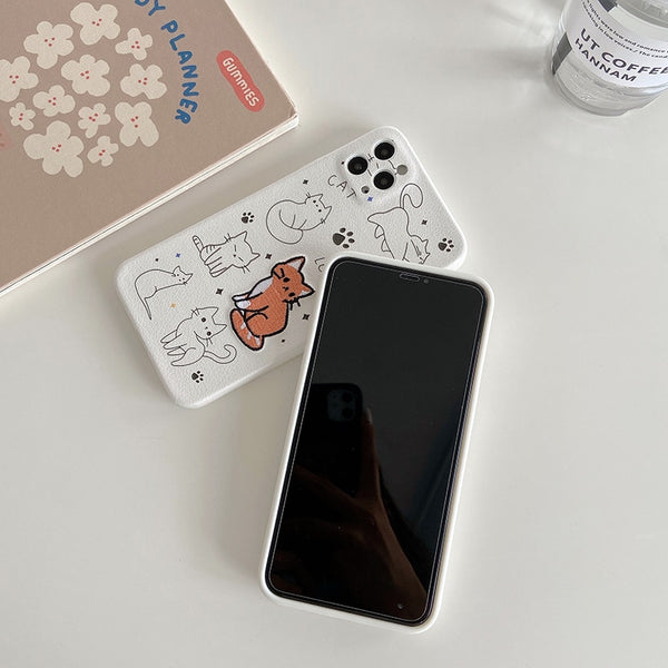 Cat & Dog iPhone Case