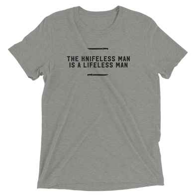 The Knifeless Man (gray)