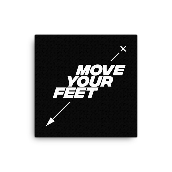 Mover Your Feet (canvas art)