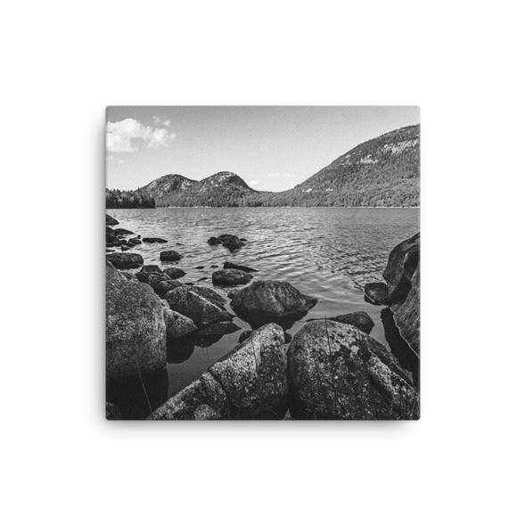 Jordan Pond, Acadia National Park (canvas art)