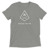 Radius Factor Logo Triangle (tri-blend)