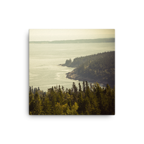 Cadillac Mountain, Maine (canvas artwork)
