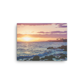 Sunset on Kauai (canvas artwork)