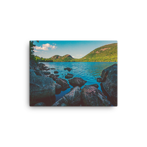 Jordan Pond, Acadia (canvas artwork)