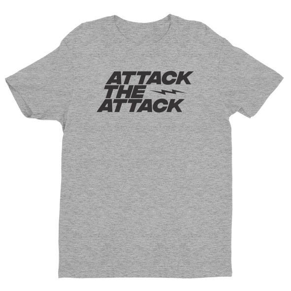 ATTACK THE ATTACK (black ink)