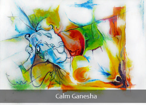 Lord Ganesha Oil Paintings Oil Painting Ganesha