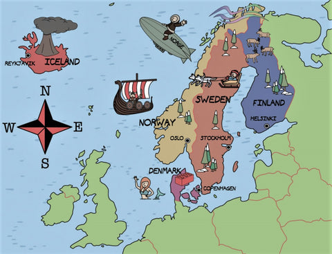 Who are the Vikings and where did they come from