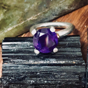 Bouquet Ring-Fct Amethyst 925 & 375 Ring