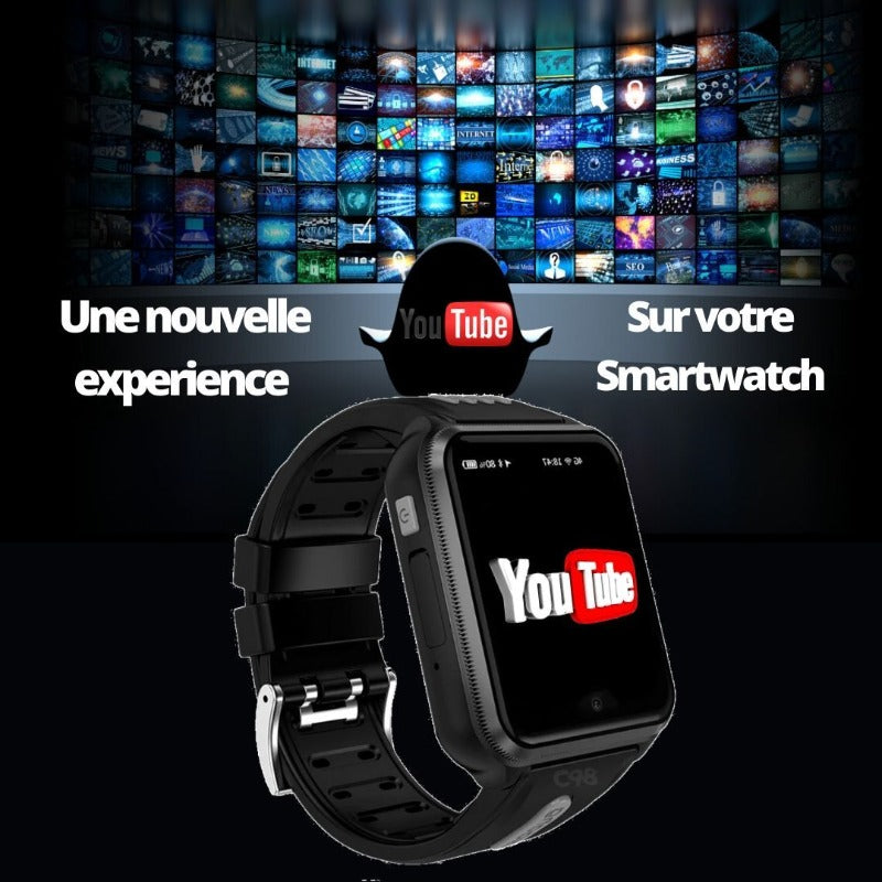 montre connectée enfant you tube