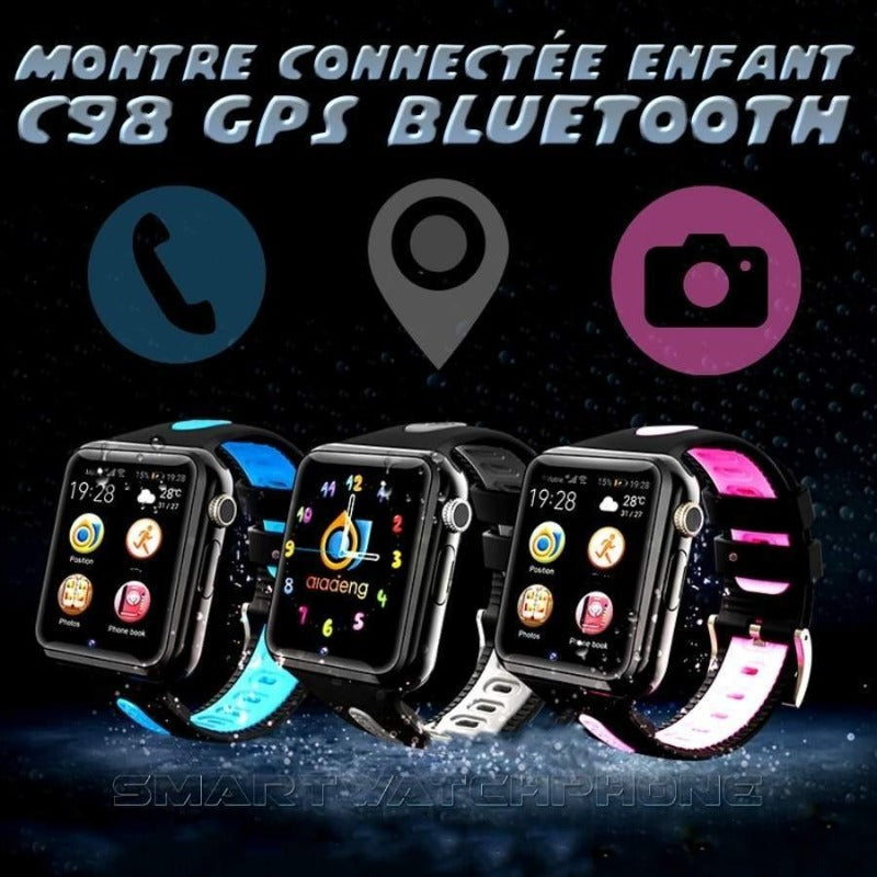 montre connectée enfant bluetooth GPS C98