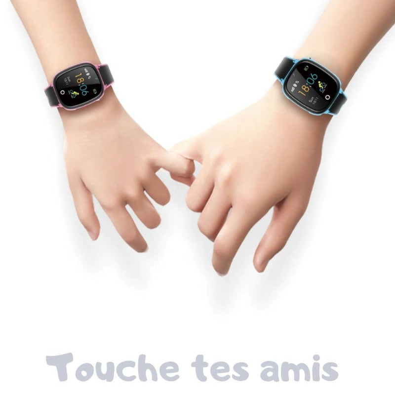 Montre Connectée Enfant GPS C76<br> Waterproof