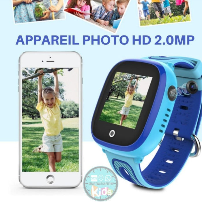 Montre Connectée Enfant GPS C80<br> WIFI Waterproof