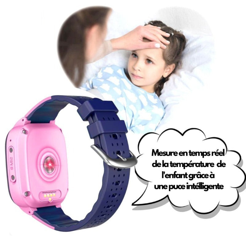 Montre Connectée Enfant GPS C95<br> 4G Wifi Waterproof 🌡️