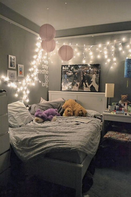 Using lights in decor