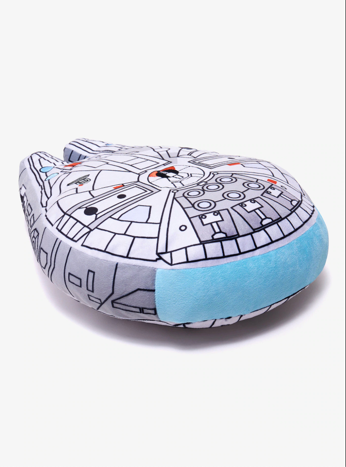 Millennium Falcon Pillow - LumoDecor