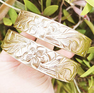 Gold Hawaiian Bangles (Hamilton Gold)