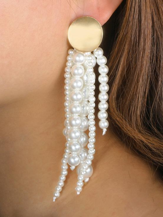 Fashion Simple Tasseled Earring Accessories